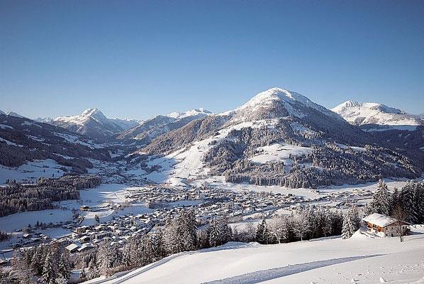 Kirchberg im Winter