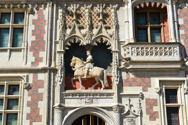 Eingang Schloss Blois