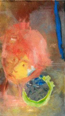 Kürbisernte-3,Acryl-Pigmente-Mischtechnik auf Lwd., 40 x 70 , 2009