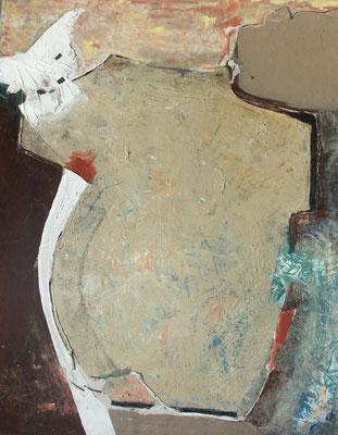 Drecksack, Acryl auf Pappe, 100 x 80,2005