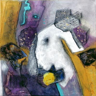 Sheharazad,Acryl-Mischtechnik auf Lwd, 65x65, 2006