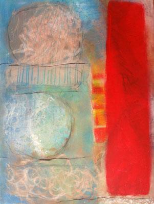 Sphärenklang, Acryl-Pgmente auf Leinwand,60 x 80, übermalt 2012