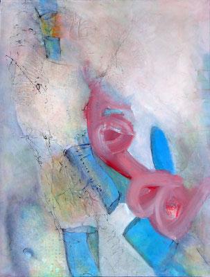 die Morgenrunde Acryl auf Lwd., 90 x 70, überarbeitet 2017