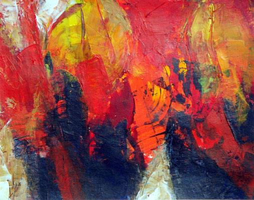 46a,Dresden,Acryl auf Papier,30 x 35,2001