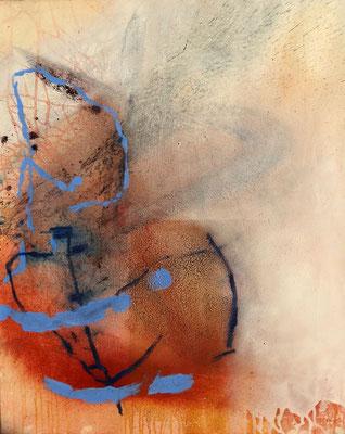 o.T.Acryl-Pigmente auf Lwd. 100 x 80,2015