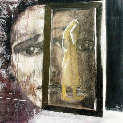 Frank, Öl auf lwd. 80 x 80, 1983