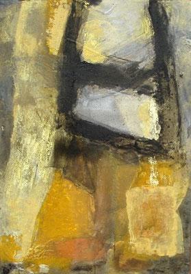 o.T. Acryl-Enkaustik auf Pappe , 100 x 70,2007
