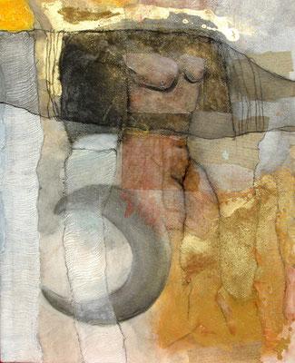 1001 Nacht,Acryl-Mischt. auf Lwd,  105 x 85, 2006