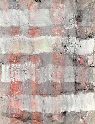 verhangen- 1 ,Acryl auf Lwd. 90 x 70 , 2017