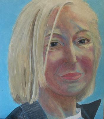 Helga, Acryl , Lwd. 70 x 60, 2012