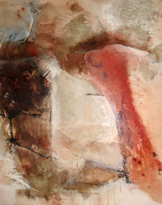 morph 1,Acryl-mixed media auf Lwd.,80 x 100, 2011