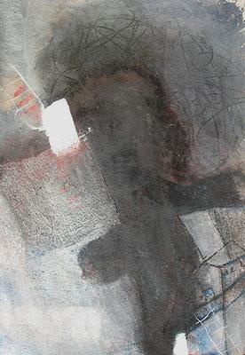 Klappera-bimmerich, Pigmente auf Papier, auf Sperrholz gezogen,  110 x 80,  2007