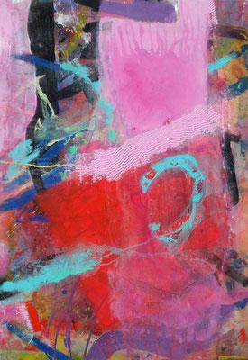 m.m.m chaos concealed-2, Acryl-Pigmente auf Lwd. ,70 x 100, 2010