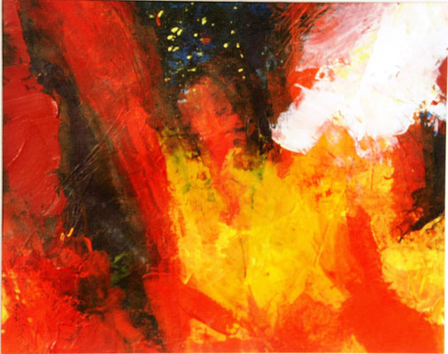 46b,Dresden,Acryl auf Papier,30 x 35,2001