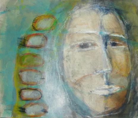 l´omo, Acryl-Pigmente-Mischtechnik auf Lwd, 80 x 100,2010