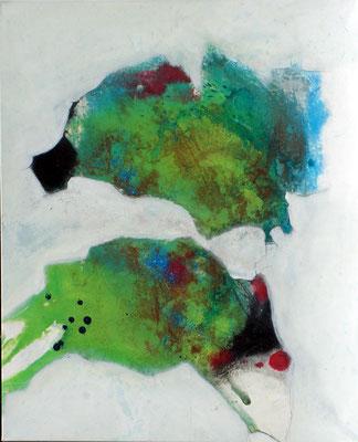 Springmaus, Acryl-Mischt.auf Lwd. 100 x 80, 2006