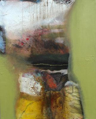 Pull-over, Acryl-Mischtechnik auf Lwd.,85 x 105,2011