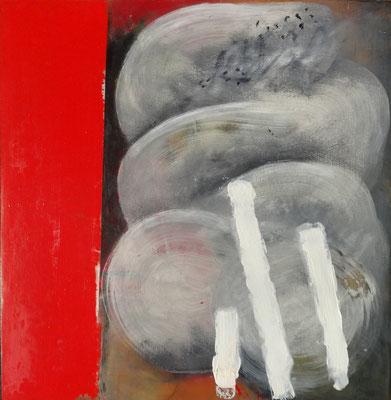 o.T. Acryl auf Holz,53 x 53,2015
