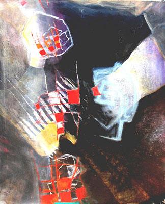 Net Space, 94 x 78, Acryl auf Lwd. 2007