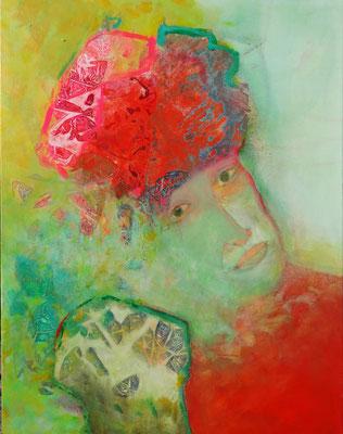 Frühsommer, Acryl, Pigmente, Lwd. 90 x 70, 2013