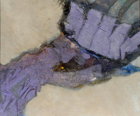Stammhand, Acryl-Mischt. auf Lwd, 2006