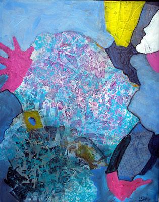 WienerFlieder,Acryl auf Lwd.  100 x 80,2006