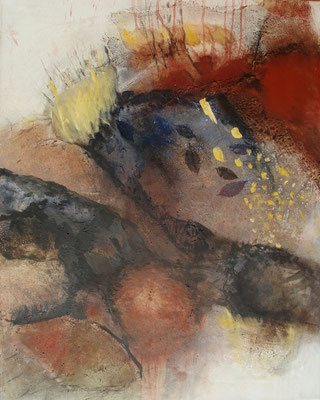 morph 3,Acryl-mixed media auf Lwd.,80 x 100, 2011