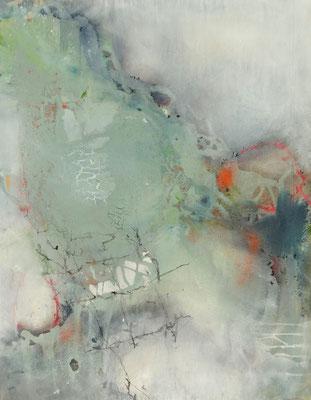 Dampf Acryl-Mischt. auf lwd., 95 x 74 ,2017