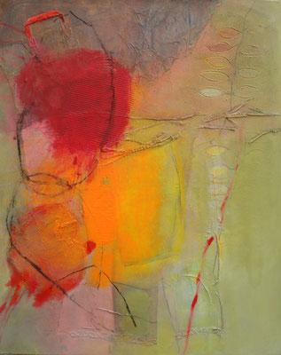 Mädchen mit Handtäschchen,Acryl-Mischt. auf Lwd.,80 x100, 2011