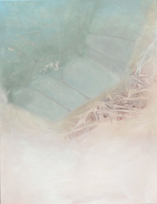 aufgelöst, Acryl auf Lwd.,  90 x 70, 2014