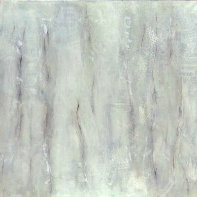 Zwischenraum 6,  Acrylmischtechnik ,Lwd. 80 x 80 ,2016