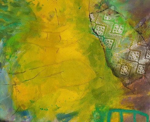 Kongo , Mischtechni Lwd. 60 x80, 2019