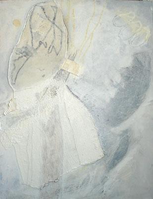 Weißheit,Acryl-Mischtechnikauf Lwd., 70 x 90 ,2011