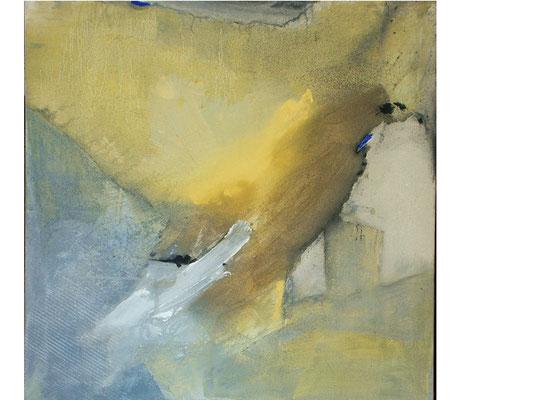Sommerwind , Acryl auf Lwd. 80 x 80 ,2005