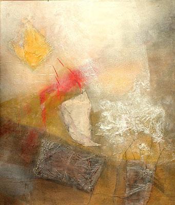 o.T. Pigmente auf Lwd,125 x 105,2007