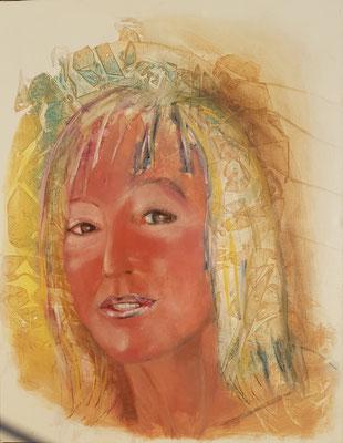 Helga 2000, Acryl-Pigmente -Lwd.9o x 70 (2)