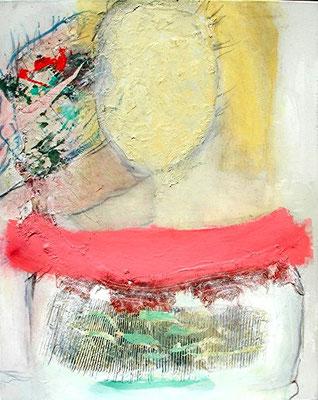 ,self-Pigmente,Mmaterial auf  Lwd. Lwd.  100 x 80 , 2008