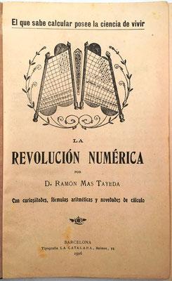 """El libro hace referencia a la """"Pauta Transmisiva de los Números"""" para realizar cualquier multiplicación reduciéndola a la suma de sus productos parciales"""