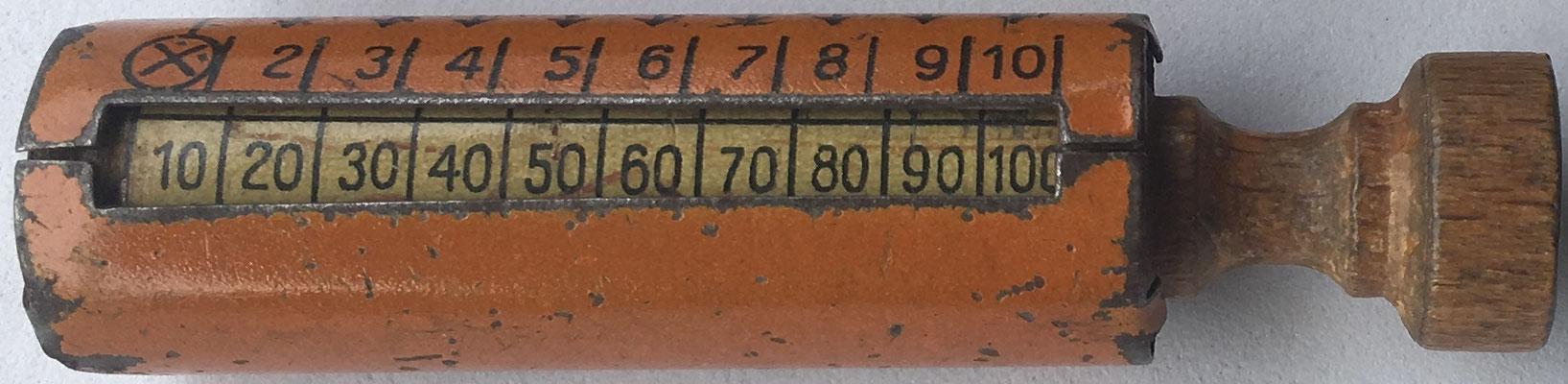Multiplicador MULTIFIX, fabricado en Alemania, 7 cm largo x 1,5 cm diámetro