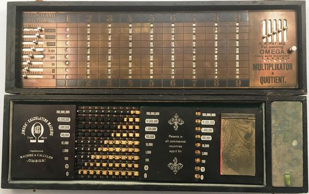 Forma parte de la Machine à Calculer OMEGA y sirve, para el cálculo de productos parciales