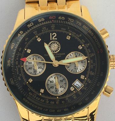 """Reloj-círculo de cálculo """"CONSTANTIN DURMONT"""", s/n 7641, año 2005, 5 cm diámetro"""