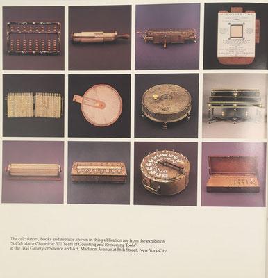 La exposición se celebró en  la IBM Gallery of Science and Arts de Nueva York en enero de 1990