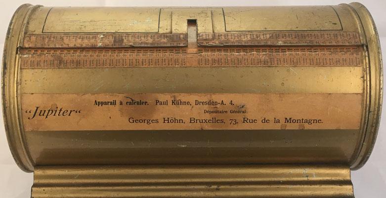Cilindro multiplicador marca JUPITER, productos hasta 100x100, año 1930, 40x18x18 cm