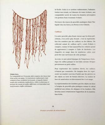 Quipu de la cultura inca, utilizado para anotar datos de contabilidad