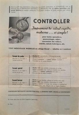 Instrucciones de uso de la regla CONTROLLER