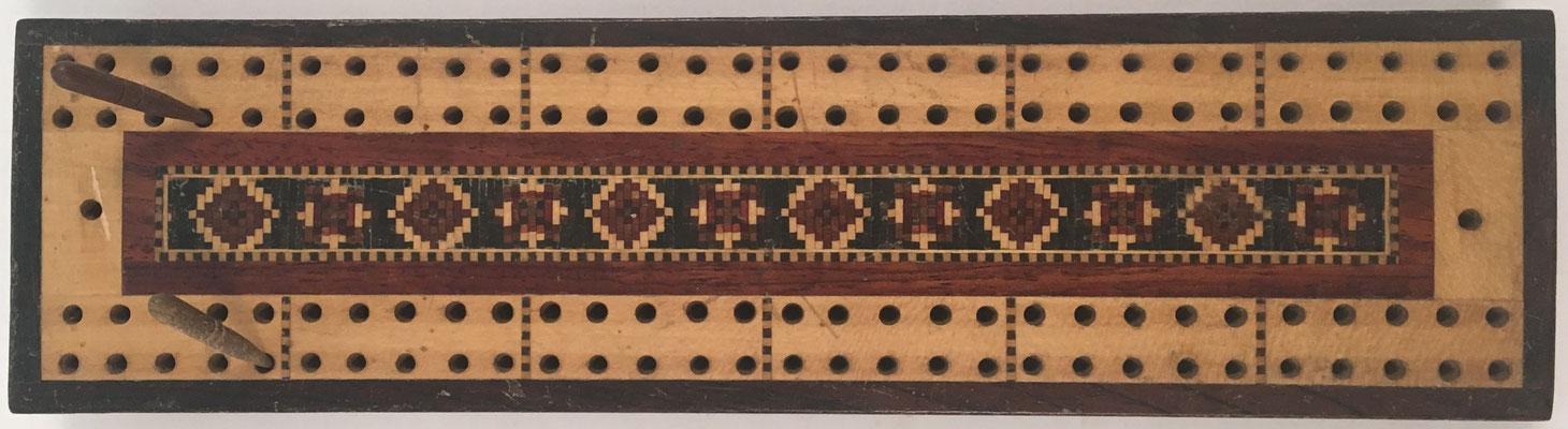 Anotador de puntuación para el juego de cartas CRIBBAGE (LA CUNA), sin s/n, 23.5X6 cm