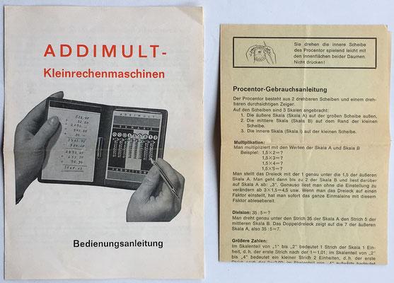 Hecho por Hans-Wolfgang Kluber, año 1960