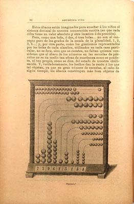 Presenta la imagen de otro ábaco europeo, de original e irrealizable diseño, con el número 239.613.154 marcado
