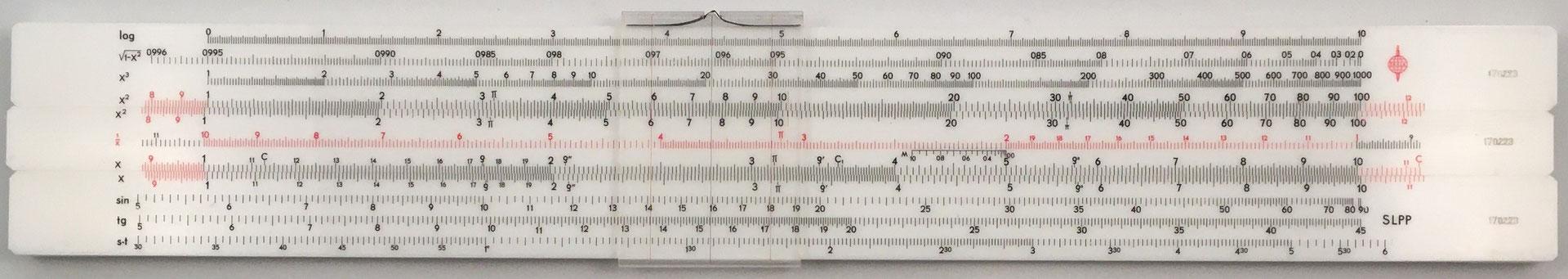 SKALA, 11 escalas,  s/n 170223, 33.5x5 cm