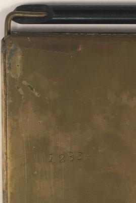 Número de serie del ábaco de ranuras MADS